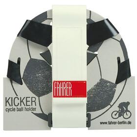 Fahrer Berlin Kicker Boldholder, black/white